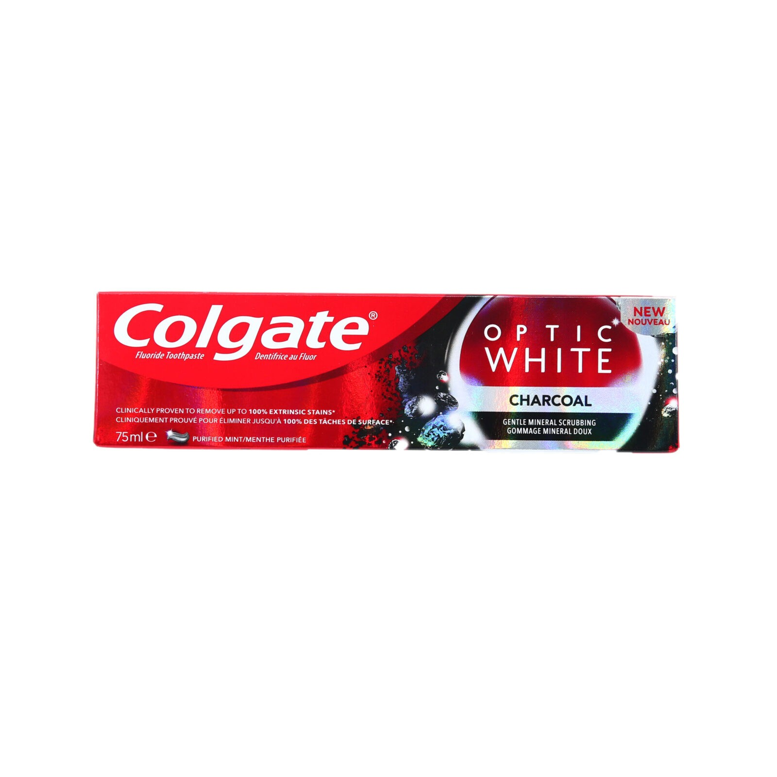COLGATE® REVITALIZING WHITE WITH ACTIVATED CHARCOAL