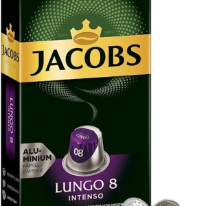 Jacobs Lungo 8 Intenso Coffee Capsules Nespresso Compatible