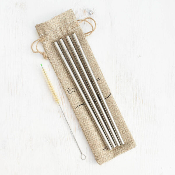 wool-stainless-steel-straws-smoothie-eco